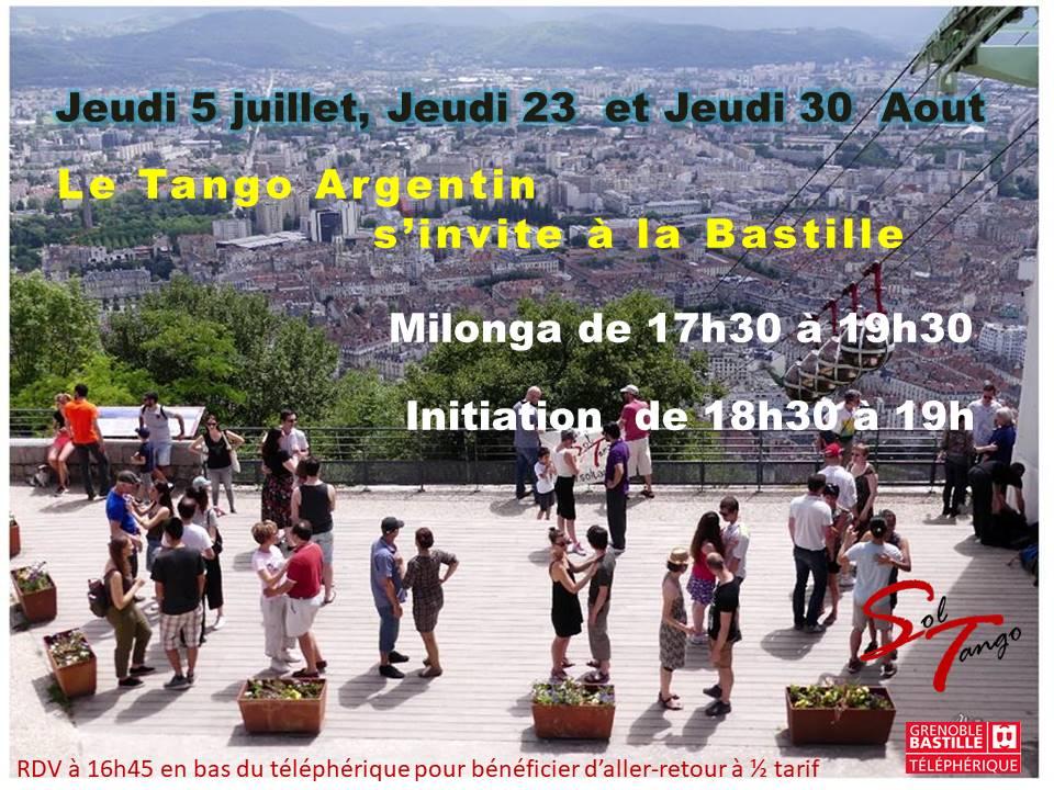Le tango s'invite à la Bastille