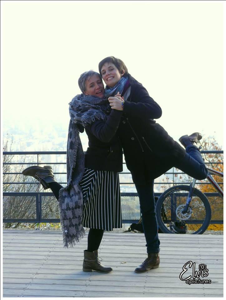 Marie et Léna au Tango à la Noix !