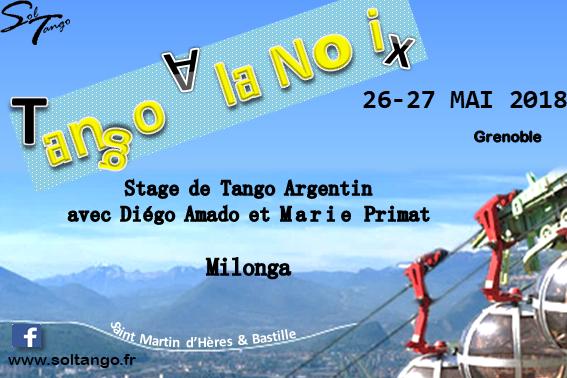 Tango à la Noix, 3eme édition