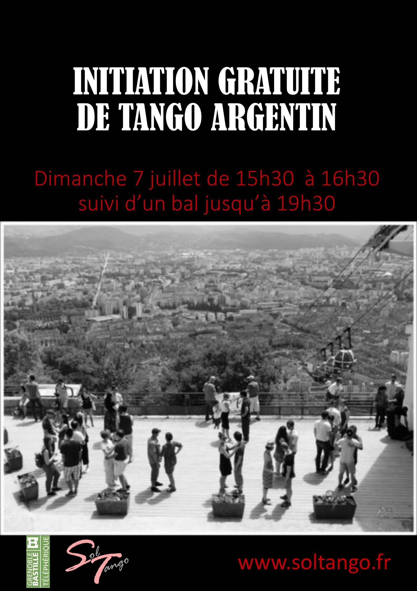 Venez découvrir le tango argentin